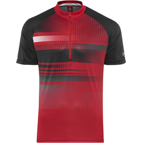 Löffler Track Fietsshirt korte mouwen Heren rood